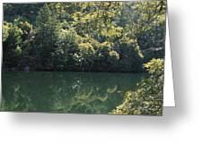 Alpine Lake Greeting Card