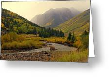 Alpine Loop Fall Greeting Card
