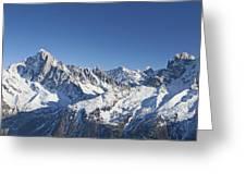 Alpine Panorama Greeting Card
