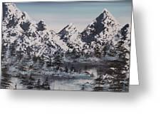 Alpine Peaks Greeting Card