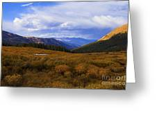 Alpine Pond Greeting Card