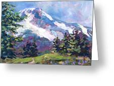 Alpine View Greeting Card