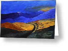 Alpine Vista Greeting Card