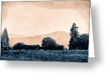 Alpine Western Greeting Card