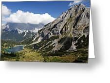 Alps Austria Greeting Card