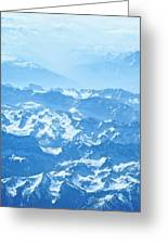 Alps Iv Greeting Card