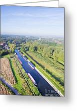 Alrewas Canal Greeting Card