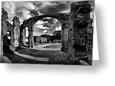 Altagracia - Ruinas Greeting Card