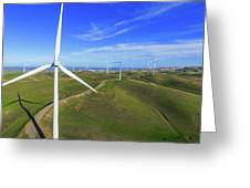 Altamont Windfarm Greeting Card
