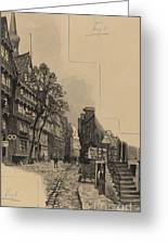 Alte Strasse Greeting Card