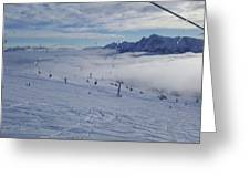 Alto Adige Greeting Card
