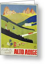 Alto Adige South Tyrol Greeting Card