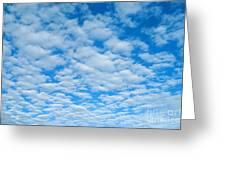 Alto-cumulus Greeting Card