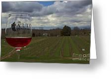Alto Vineyards Greeting Card