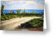 Alto Vista Chapel Greeting Card by Shirley Braithwaite Hunt