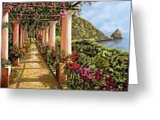 Altre Colonne Sul Golfo Greeting Card