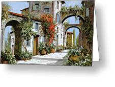 Altri Archi Greeting Card by Guido Borelli