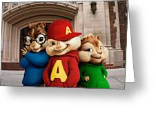 Alvin And The Chipmunks Greeting Card