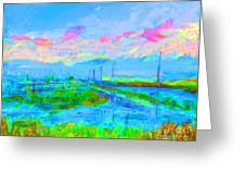 Alviso Evening Greeting Card