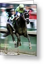 Always Dreaming, Johnny Velasquez, 143rd Kentucky Derby  Greeting Card
