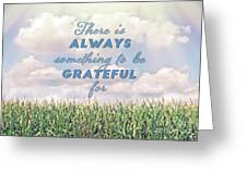 Always Grateful Greeting Card