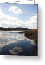 Alwen Reservoir  Greeting Card