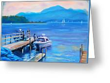 am Chiemsee Greeting Card