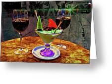 Amalfi Dessert Greeting Card