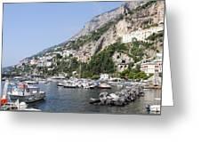 Amalfi Coast Italy Greeting Card
