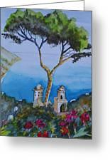 Amalfi Italy Color Greeting Card