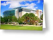 Amalie Arena Tampa Fl Greeting Card