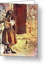 Amantani Girl- Peru Greeting Card