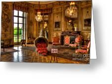 Amaryllis In The Castle, Belgium Greeting Card