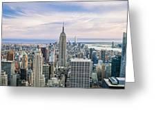Amazing Manhattan Greeting Card
