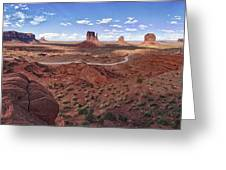 Amazing Monument Valley Greeting Card