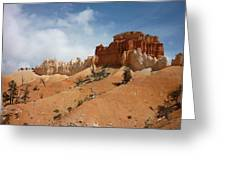 Amazing Mountains In National Park  Greeting Card