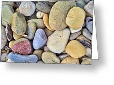 Amazing Pebbles Greeting Card