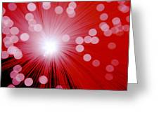Amazing Red Greeting Card