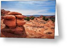 Amazing Rock Formations At Kodachrome Basin State Park, Usa. Greeting Card