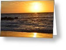 Amazing Sunset 230 Greeting Card