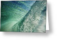 Amazing Wave Greeting Card