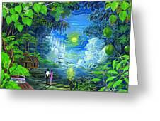 Amazonica Romantica Greeting Card