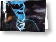 Amazzone Notturna Greeting Card