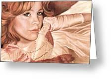 Amber Greeting Card
