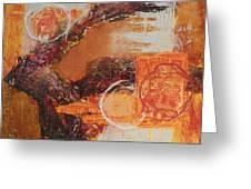 Amber Parade Greeting Card