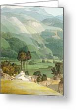 Ambleside Greeting Card by Francis Towne