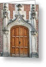 Amboise Door Greeting Card