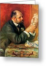 Ambroise Vollard 1908 Greeting Card