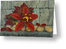 Ambrosia Flower Greeting Card