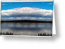 America The Beautiful 2 - Alaska Greeting Card
